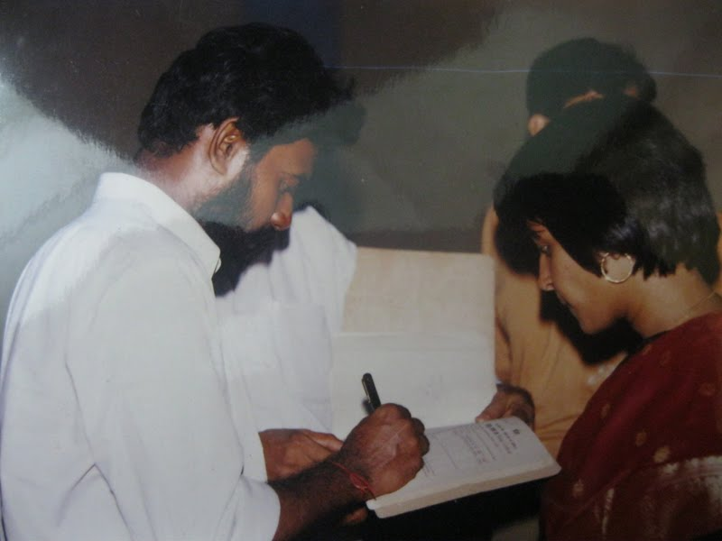 Signing the marriage contract When I was spending three days in the train