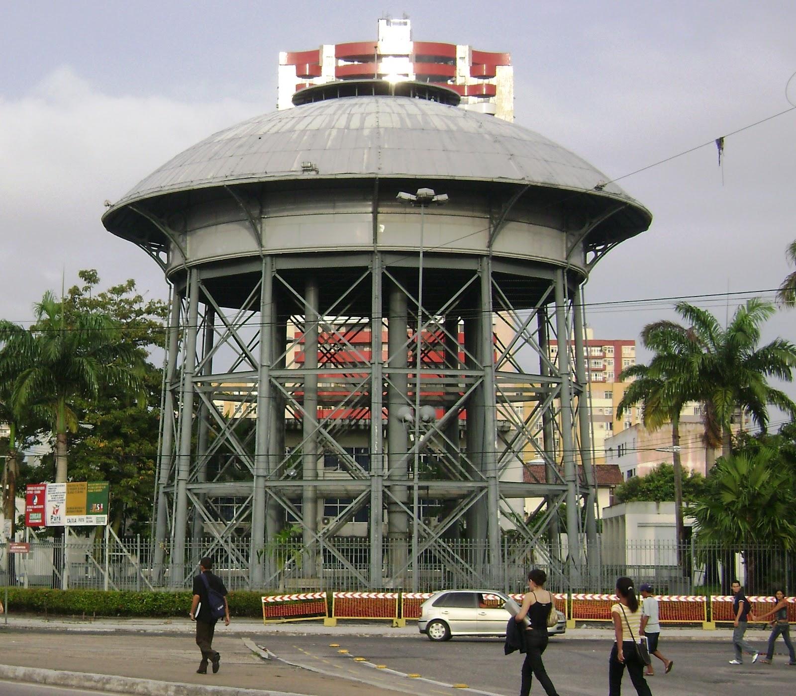 Caixa d'água velha em São Brás. #933E38 1600x1400