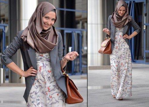 hijab fashion id e de tenue pour sortir hijab et voile mode style mariage et fashion dans l. Black Bedroom Furniture Sets. Home Design Ideas