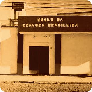 Fachada do prédio onde fica o Museu da Gravura Brasileira, em Bagé