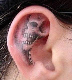 imagens de Tatuagens de Caveira
