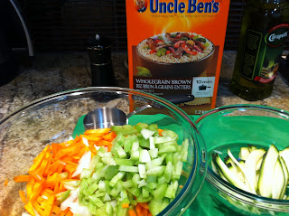 chicken rice soup for kids with uncle ben's wholegrain rice