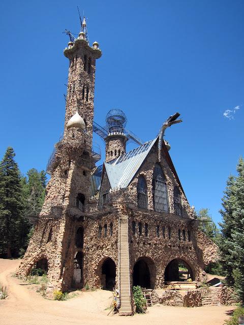 Bishop Castle, San Isabel National Forest, Rye, Colorado