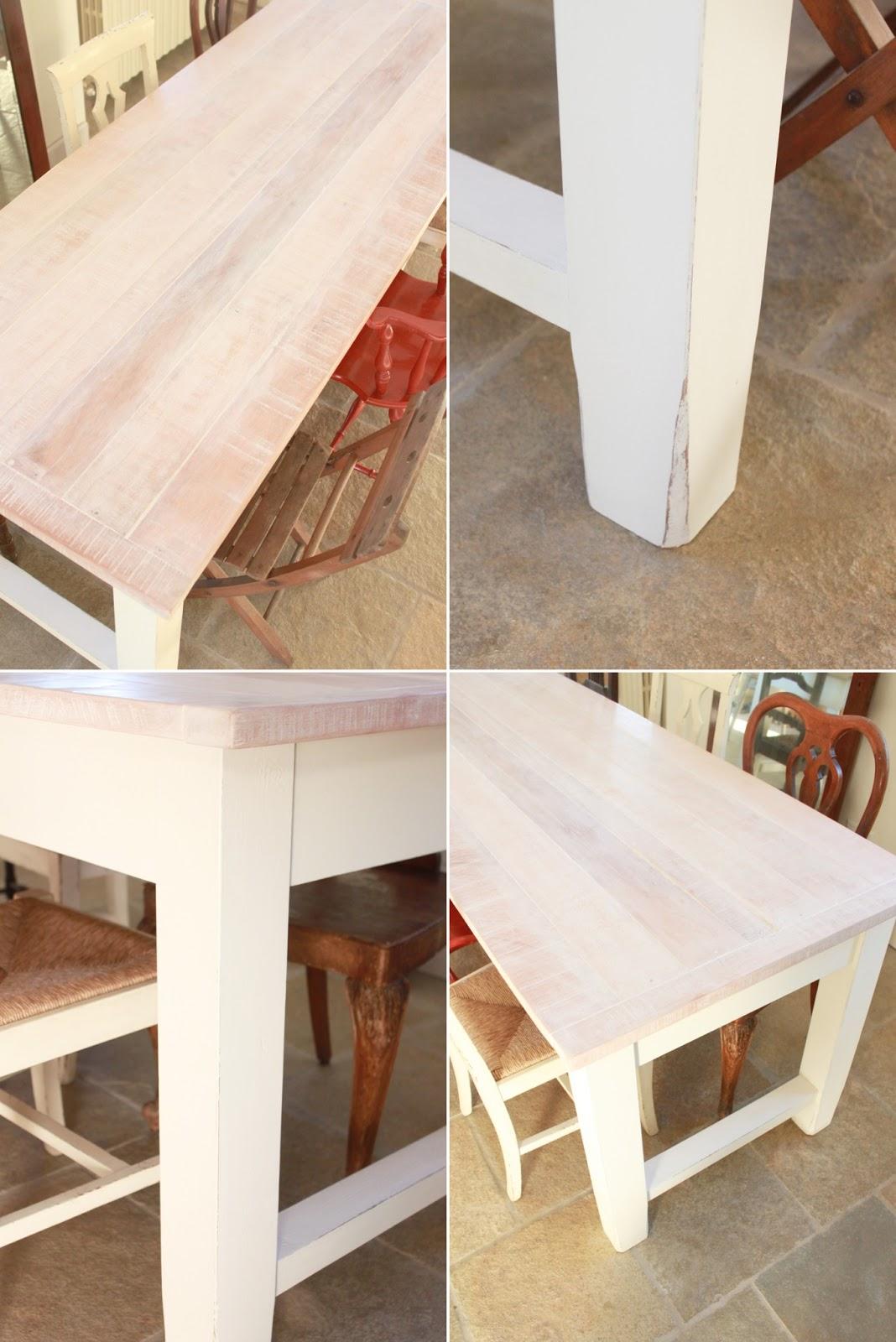 Per fare un tavolo, ci vuole il legno - Shabby Chic Interiors