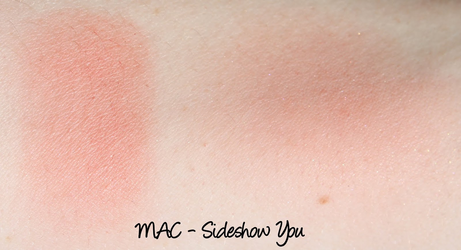 MAC Monday: MAC X The Simpsons - Sideshow You Blush Swatches & Review