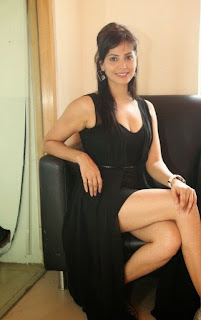 Actress Supriya Sailaja Latest  Pictures in Black Dress at BIG FM  0065.jpg