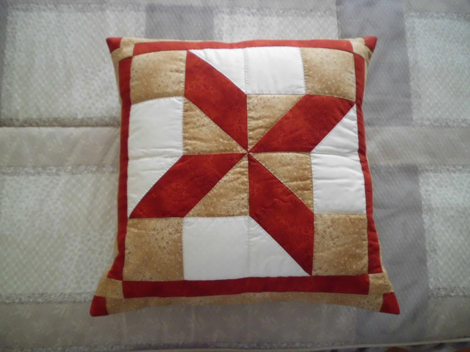 Rosa mis vivencias cojines de patchwork - Cojines de patchwork ...