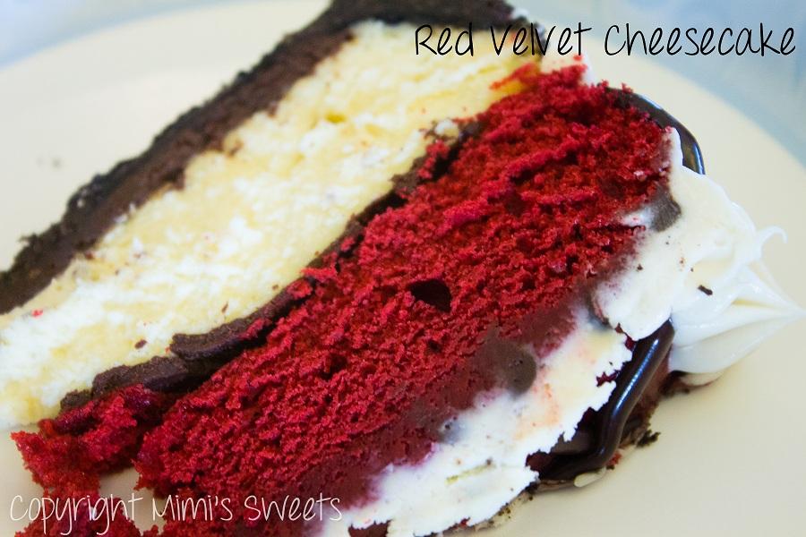 Mimi's Sweets: Red Velvet Cheesecake