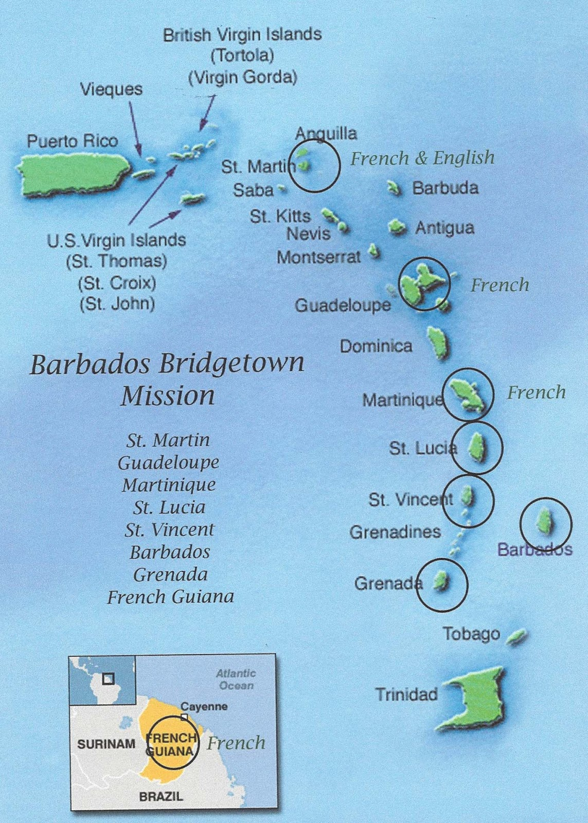 so it looks like my new boundaries will include the following caribbean islands st martin