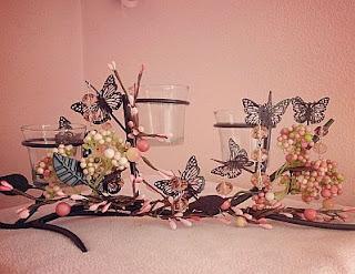 Centros de Mesa para Bodas con Mariposas, parte 1