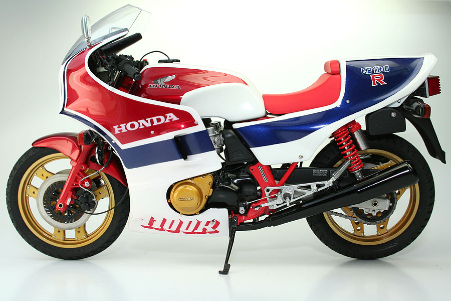 racing scale models honda cb 1100 r rd 1983 by nekopanchi. Black Bedroom Furniture Sets. Home Design Ideas