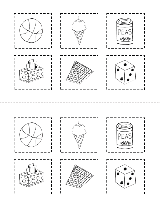 Printable Shapes to Cut Out They Cut Out The Shapes And