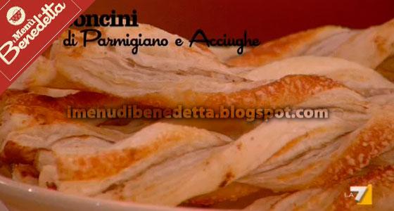 Bastoncini di Parmigiano e Acciughe di Benedetta Parodi