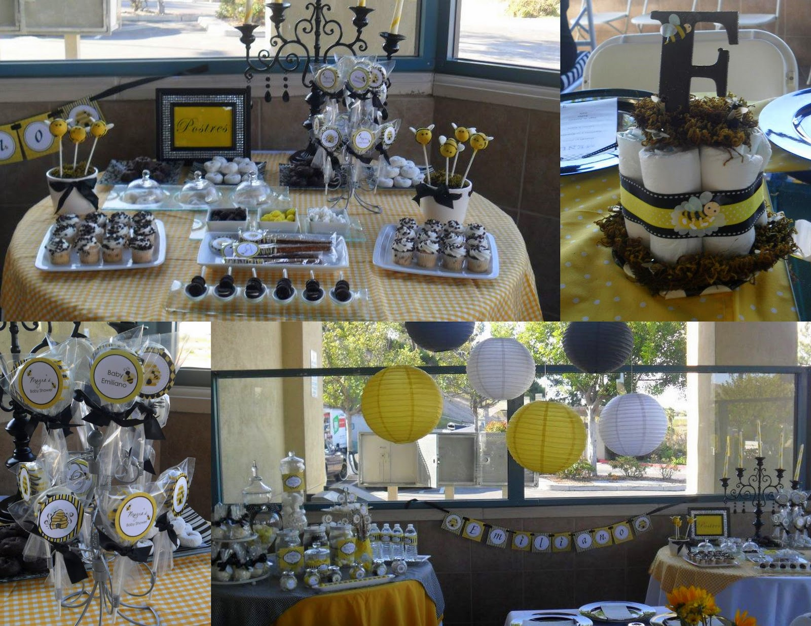 MKR Creations: Bumble Bee Baby Shower