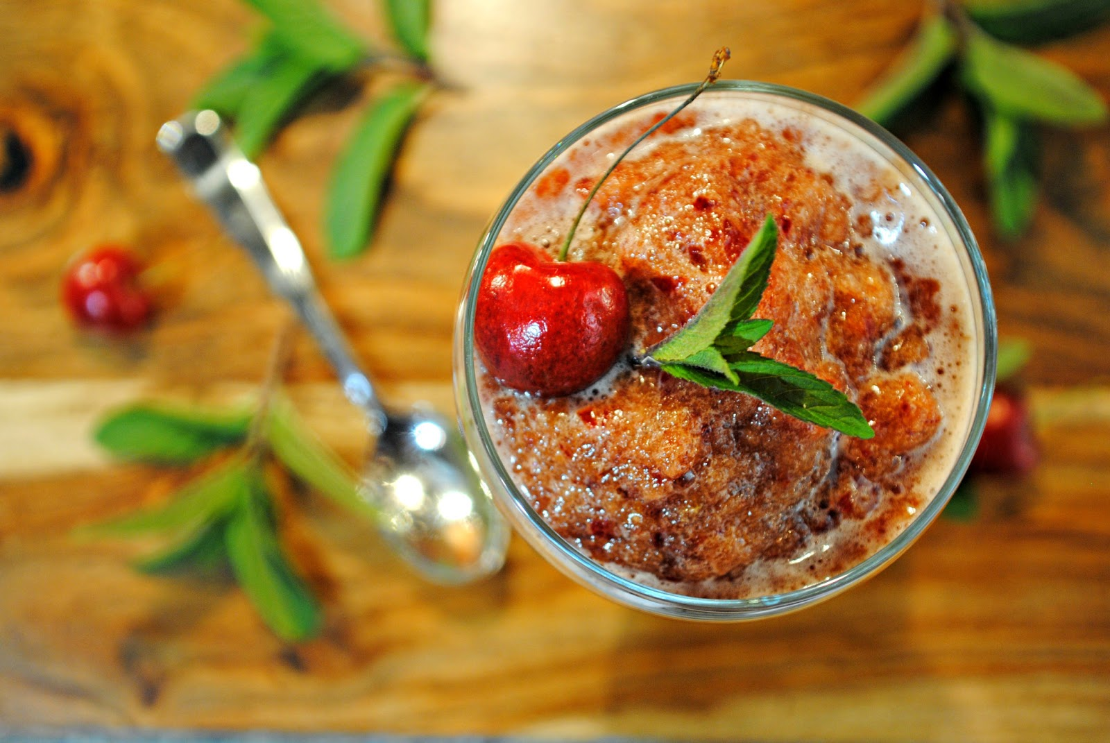 GourmetGents: Snow Cherries (Sparkling Cherry Granita)