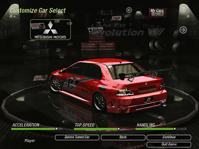 Game Mod Mitsubishi Lancer Evo Tokyo Drift Vinyl