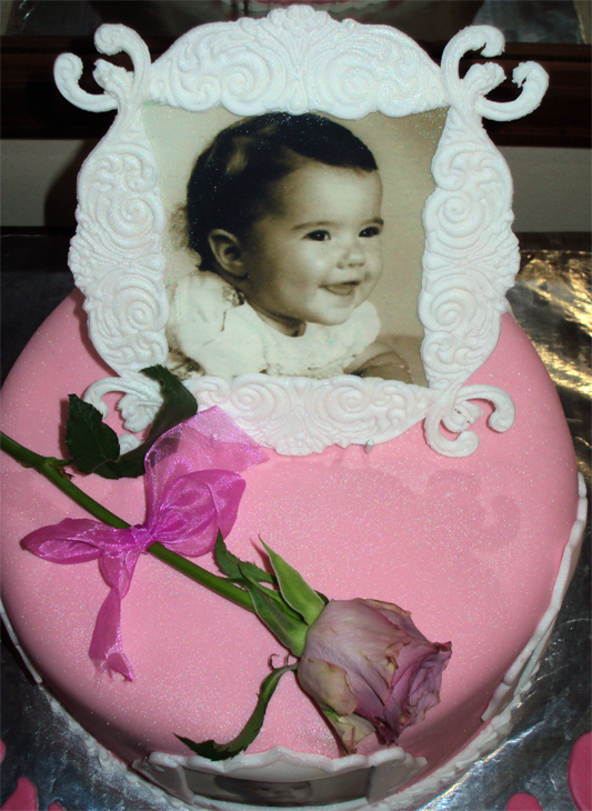 Delana S Cakes Edible Photo Amp Frame Cake