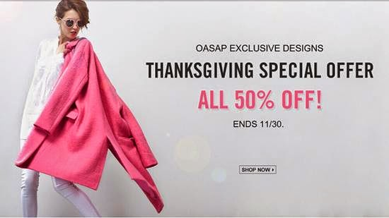 oasap, thanksgiving, thanksgiving sale , oasap, thanksgiving sale, offers, thanksgiving sale online, oasap review, oasap offers