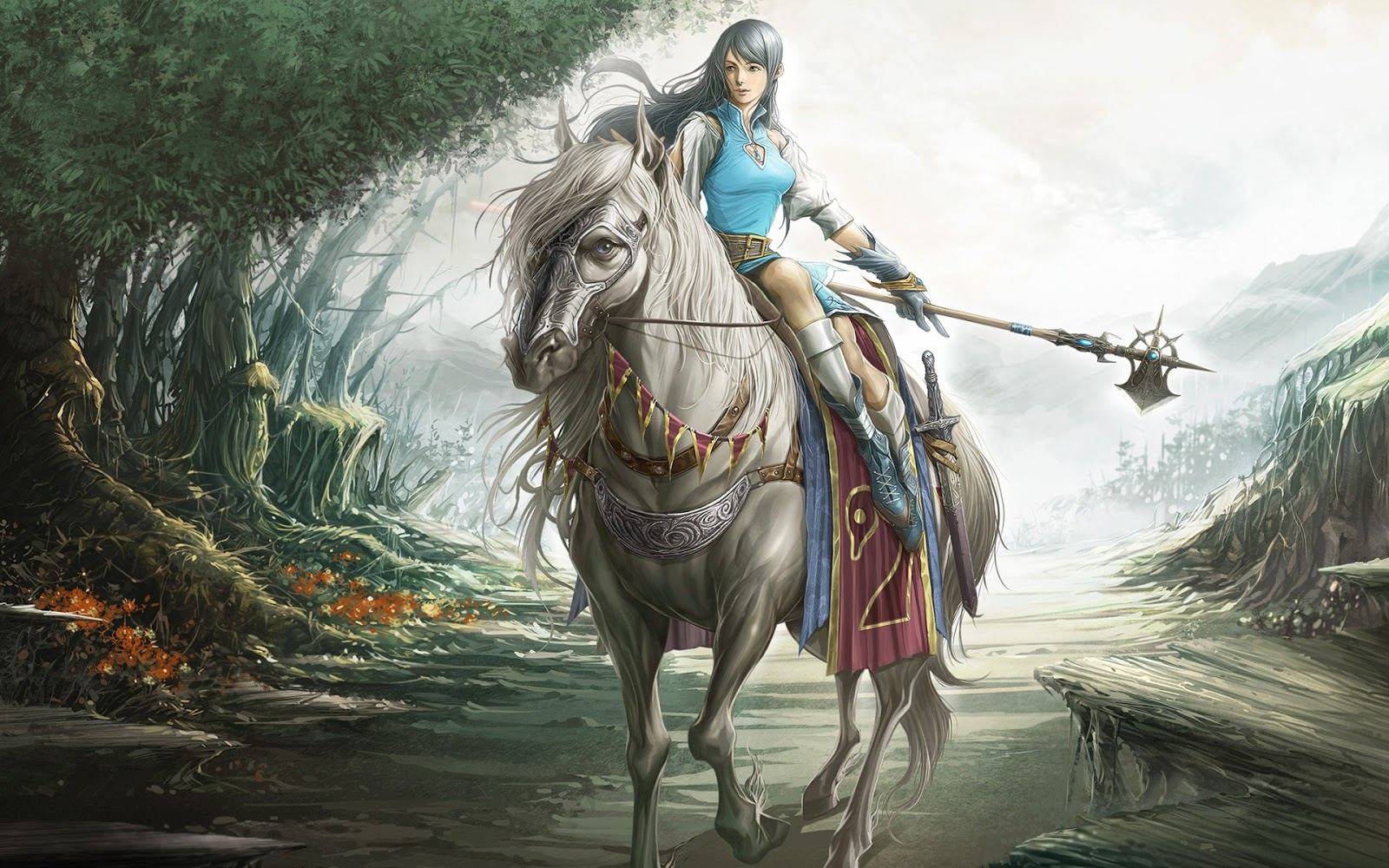 Amazing   Wallpaper Horse Magic - Belligerent+Girl+On+A+Horse  Pictures_228511.jpg