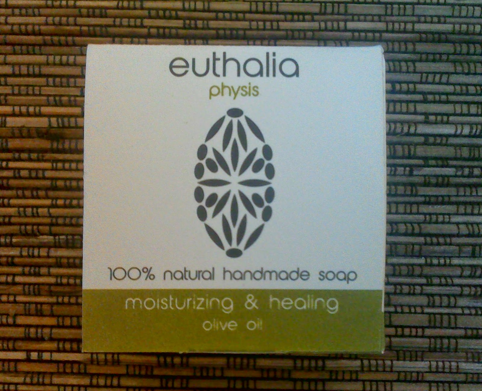 Euthalia physis 100% natural handmade soap