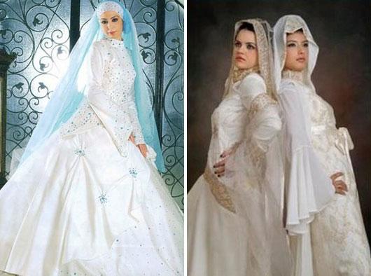 Gaun Pengantin Muslimah