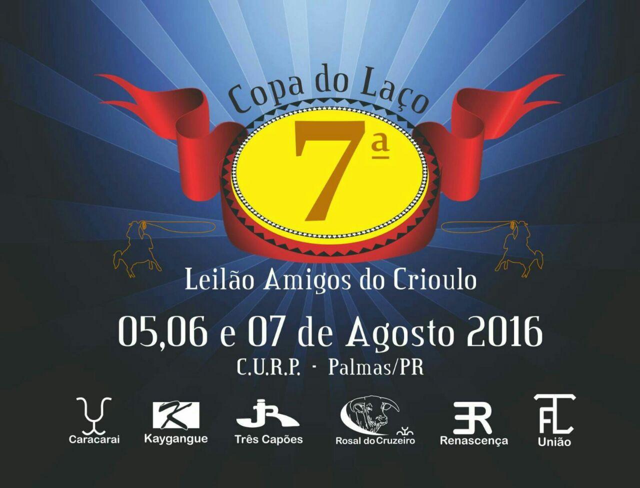 Palmas:Vem aí a 7ª Copa de Laço e leilão amigos do Crioulo