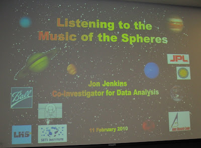 Jon Jenkins Slideshow Music of the Spheres