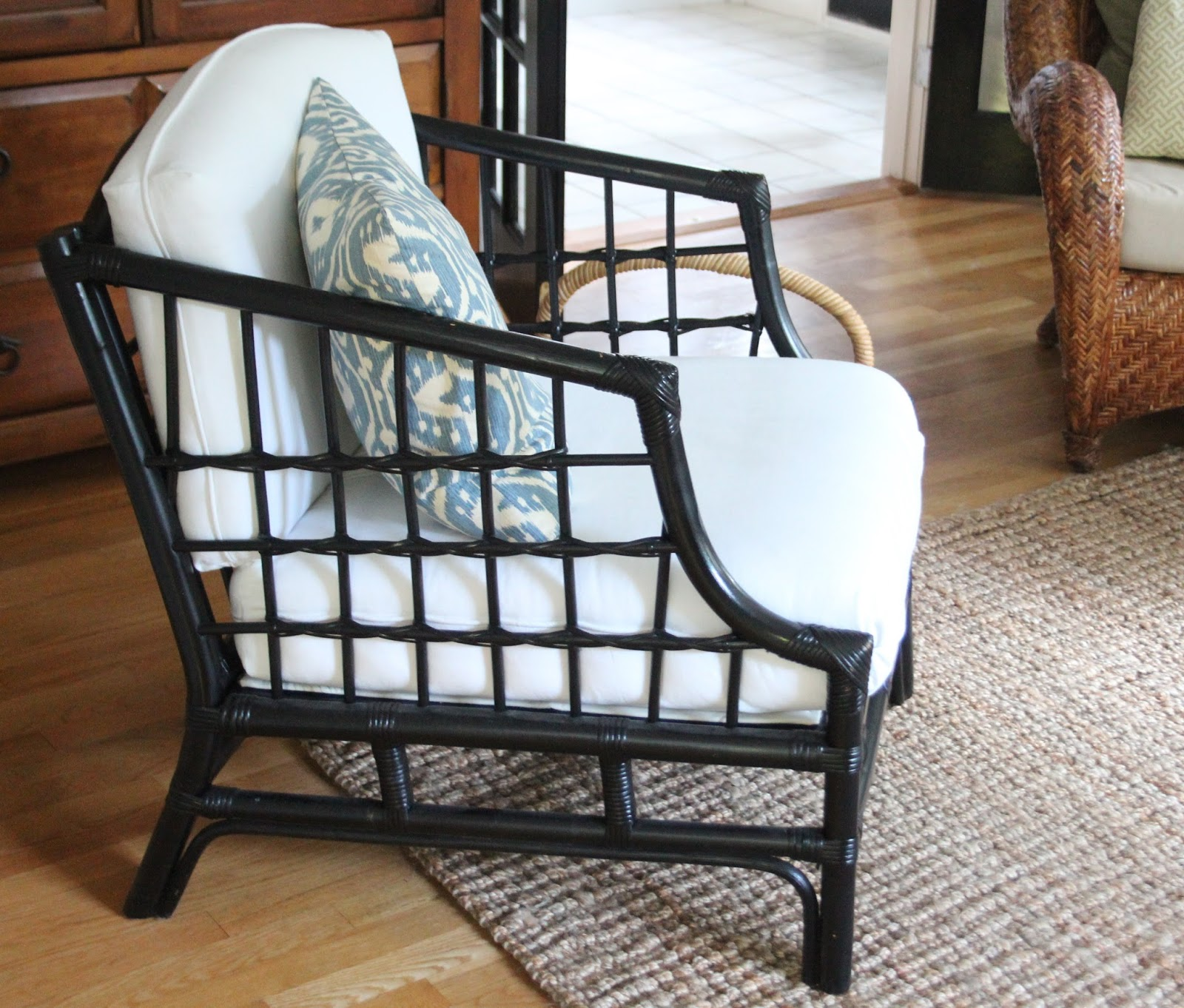 the bamboo chair makeover shine your light
