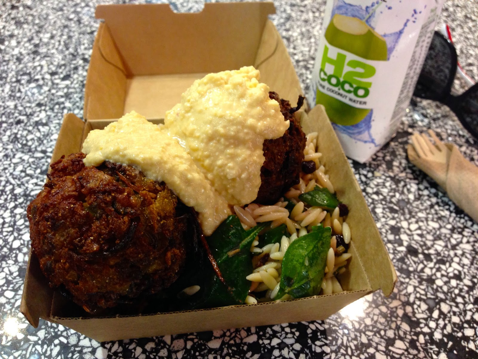 Let Them Eat, Adelaide Central Market - Cauliflower Fritters