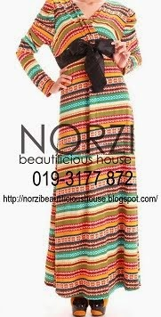 NBH0152 ASIAH DRESS (NURSING FRIENDLY)