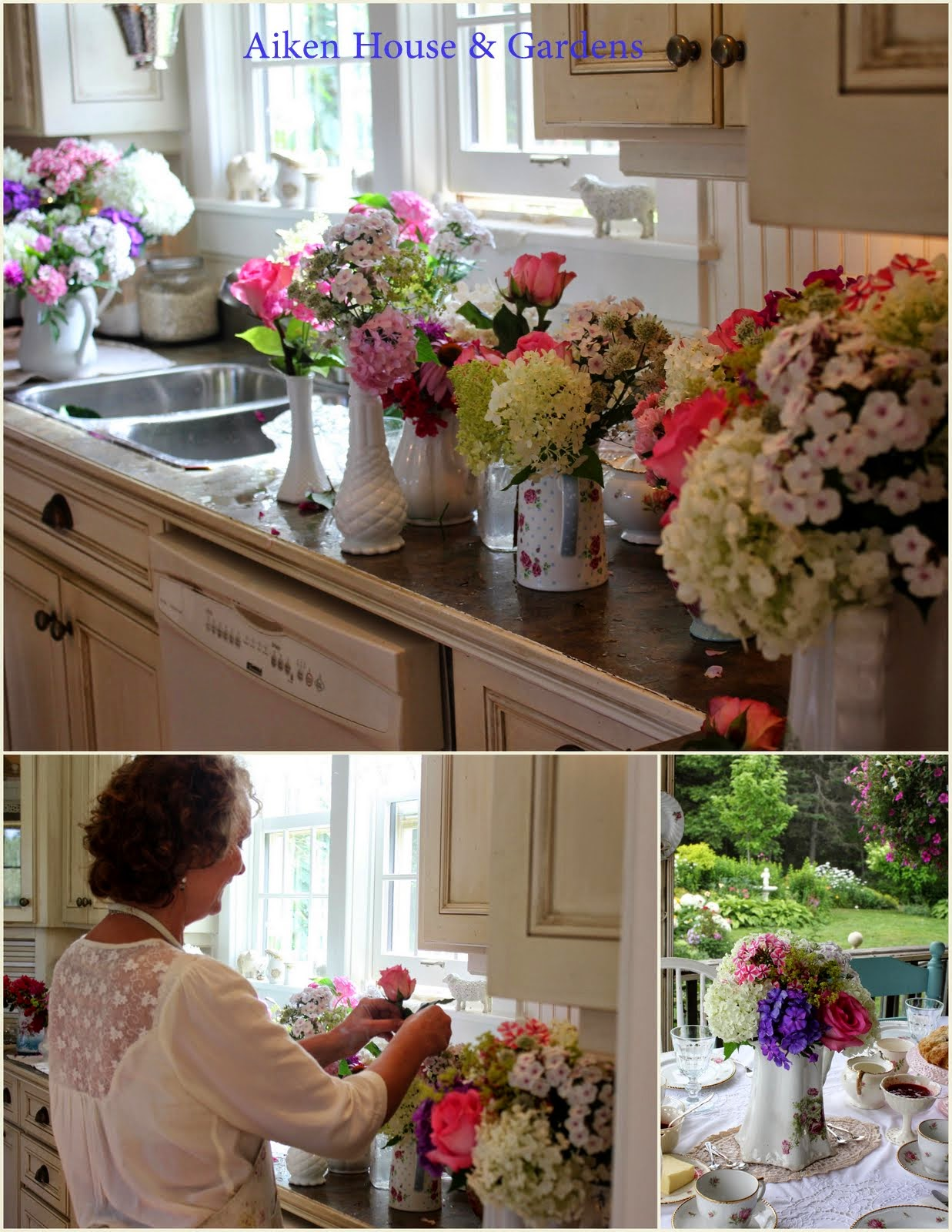 Aiken House & Gardens: Flower Power