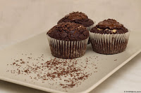 Muffins With Chocolate Comercial Photography