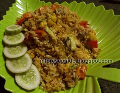 Cara Membuat Nasi Goreng Enak Pedas