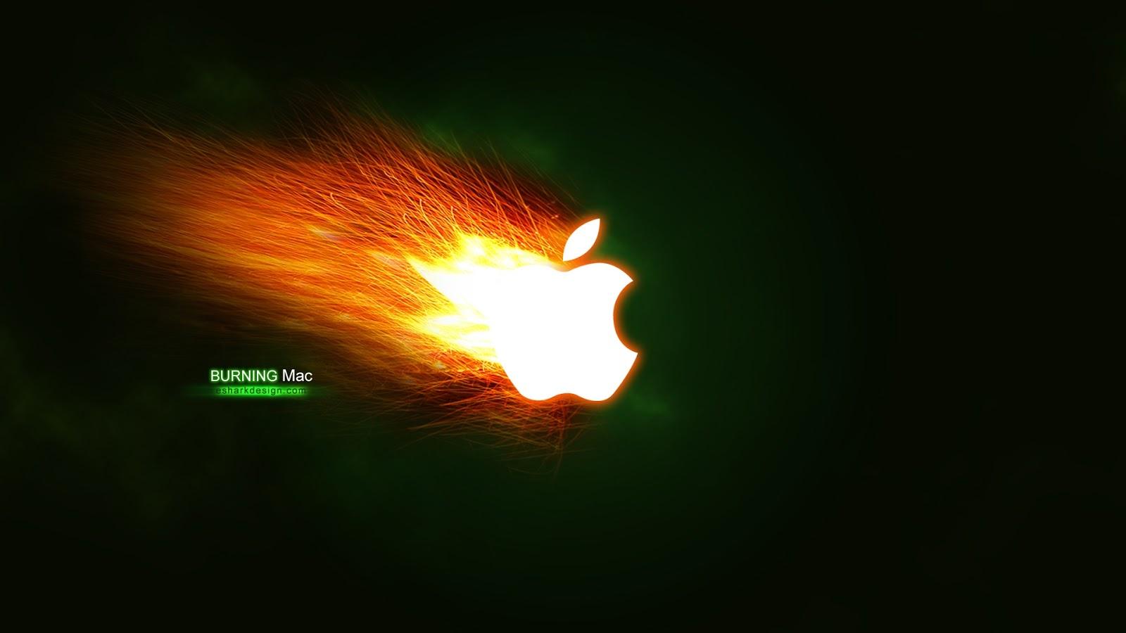Burning Apple Mac