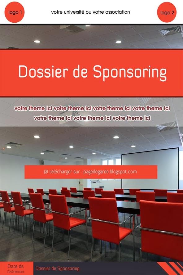 comment r u00e9diger un bon dossier de sponsoring   un exemple