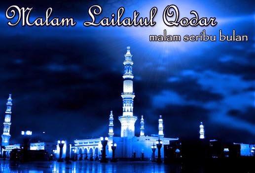 Gambar Malam Lailatul Qadar Wallpaper Seribu Bulan DP BBM