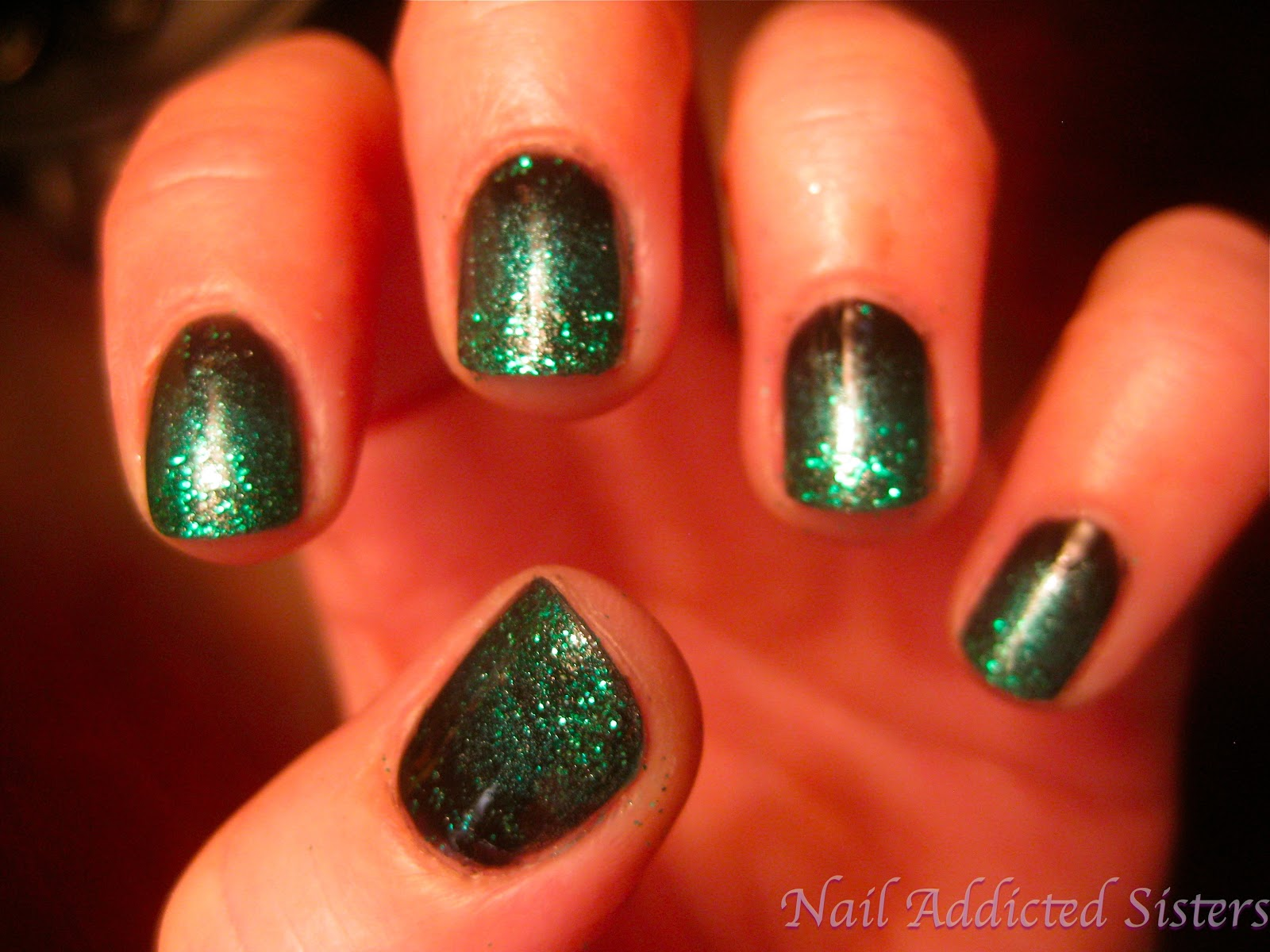 Nail Addicted Sisters: We\'re not Irish, but our nails are!