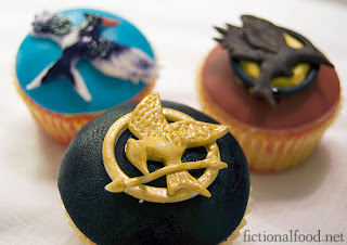 Hunger Games, crafts, recipes,cupcakes