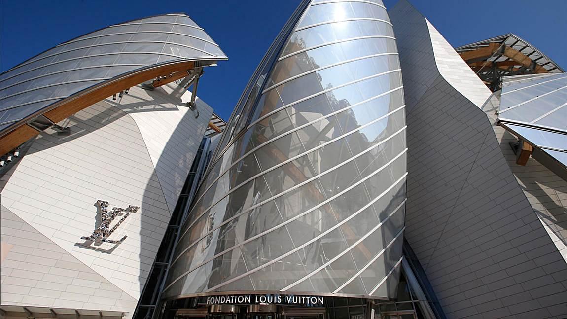 Fondation Louis Vuitton Paris by Frank Gehry