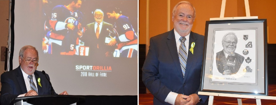 Jiggs McDonald Sport Orillia Hall Of Fame Induction April 2018