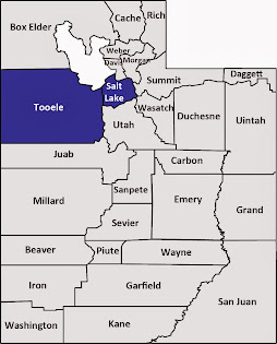 Salt Lake and Tooele counties