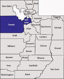 Salt Lake and Tooele counties