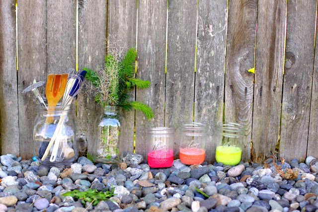 four ingredient paint diy fun kids outdoor art