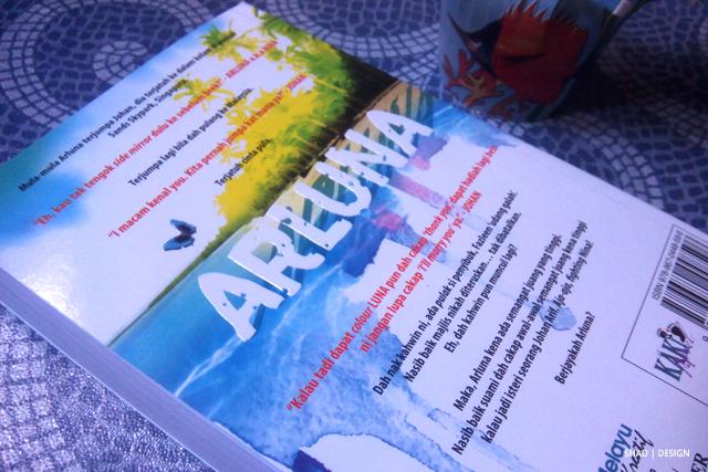 Arluna karya Rin Ahmad | Novel Review