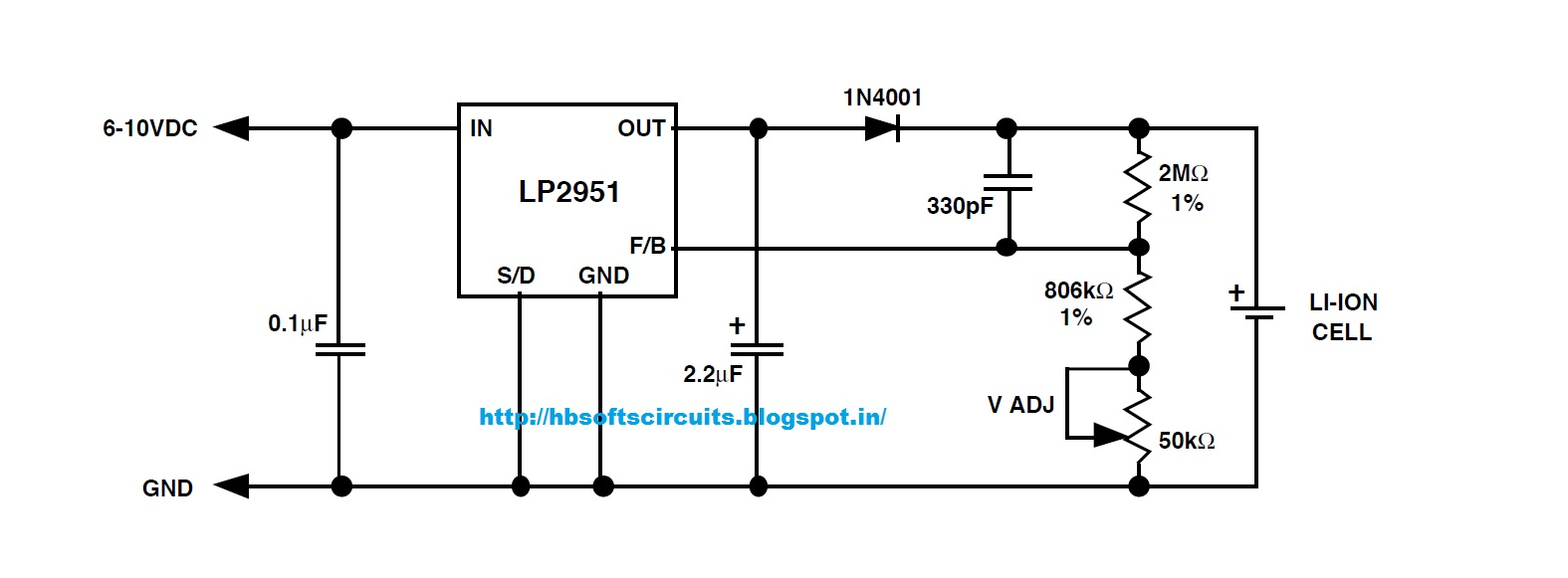 4 Cell Lithium Ion Battery Charger Ic 25 Li Index 238 Control Circuit Diagram Seekiccom Using Lp2951