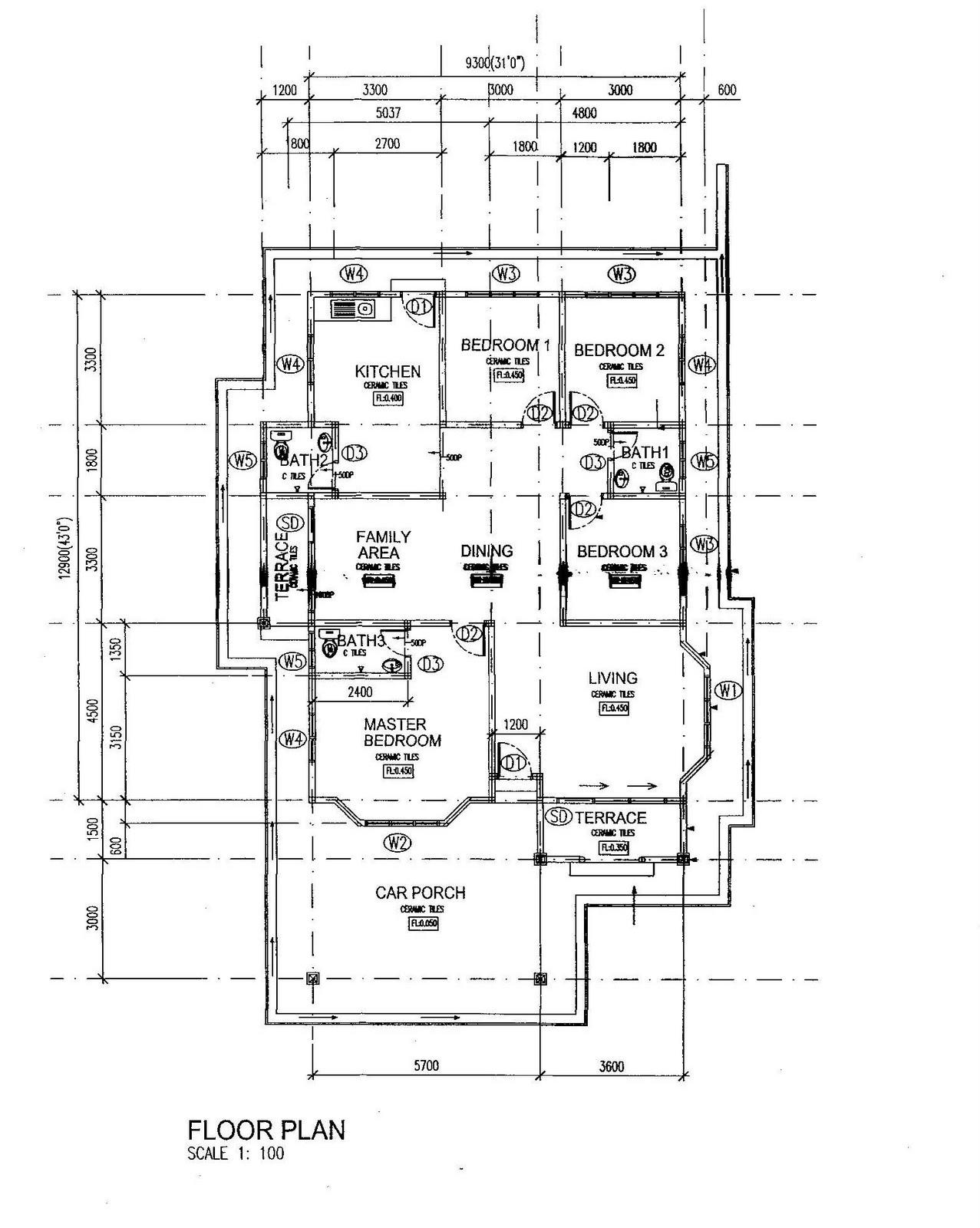 Plan Rumah Bungalow http://hawaiidermatology.com/plan/plan-lantai