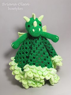 Knot Your Nanas Crochet: Smaug the African Flower Dragon ...