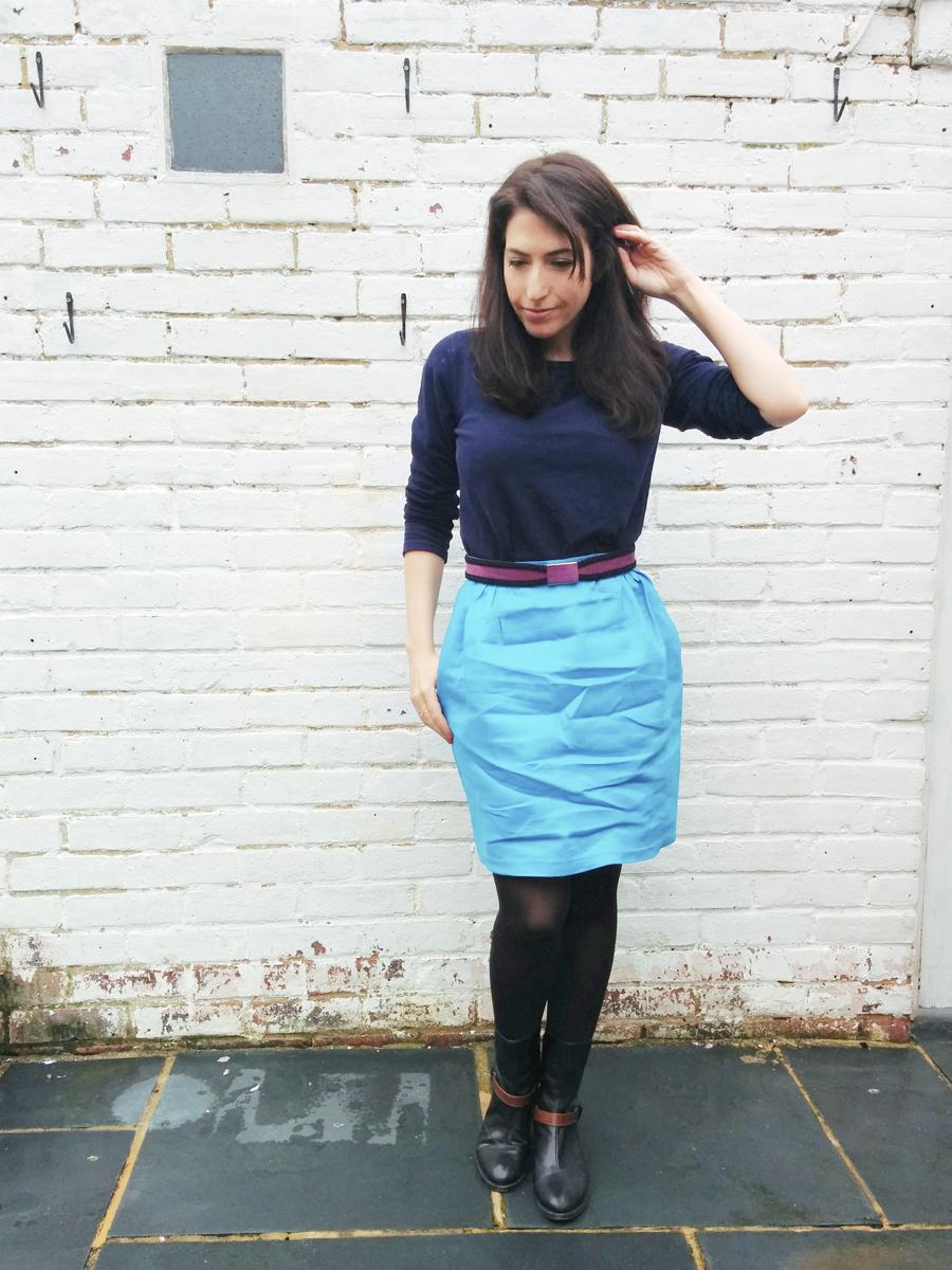 Me Made May 2015 Papercut Patterns Sigma skirt