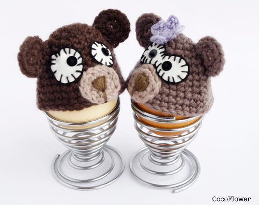 wool bear egg hat