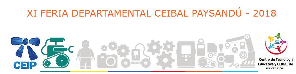 XI FERIA DEPARTAMENTAL CEIBAL 2018